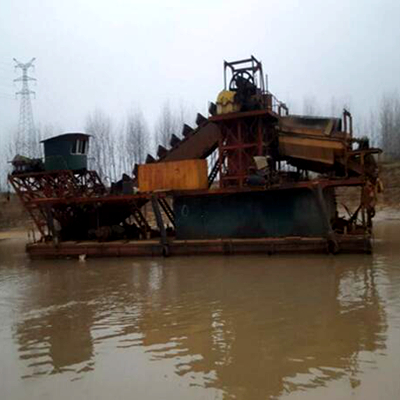 Gravel pump is the core equipment of heavy duty dredge