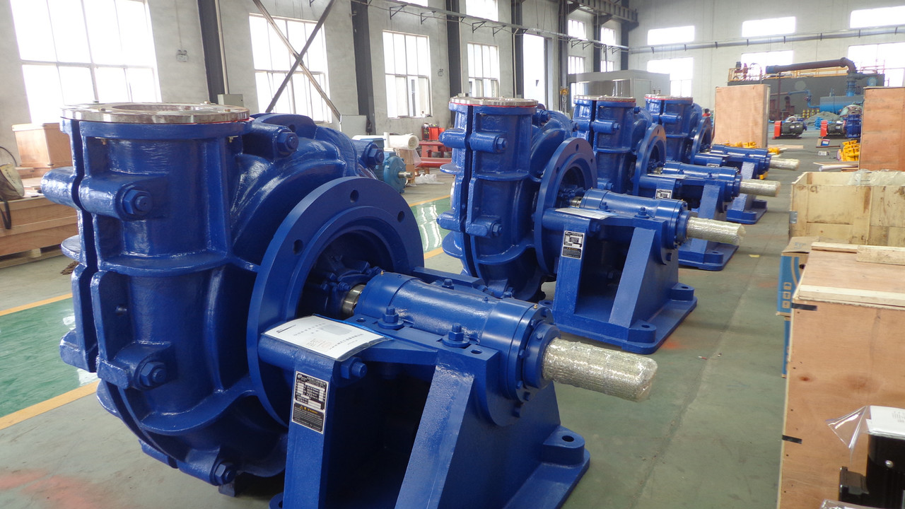 Coal preparation slurry pump
