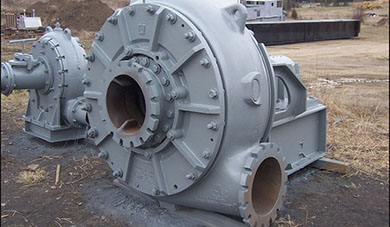 Slurry pump for dredging