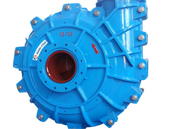 6 × 4 Mining Industrial Heavy Duty Slurry Pump